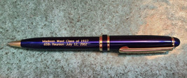 West HS Madison Wisc. Class of 1937 65th Reunion July 12, 2002 Souvenir Pen image 2