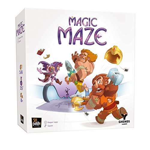 Dude Games Magic Maze Board Game