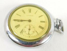 Vintage Waltham Rail Road Grade Mechanical Wind Up Pocket Watch - $137.61