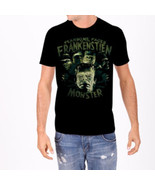 Universal Monsters Fearsome Faces of Frankenstein Adult T-Shirt, NEW UNWORN - $20.22