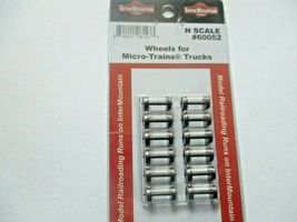 """Intermountain # 60052 Brass Insulated Wheelsets for Micro-Trains Trucks .0537"""" image 3"""