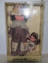 "Uneeda_Vintage_Granny_and_Me_Adorable_Matching_Vinyl_Dolls_11.5""_+_5.5""_NIB - $21.04"