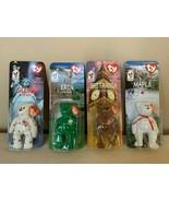 NIB 4 TY Beanie Babies w/ Errors Glory, Erin, Maple, Britannia - Collect... - $19.80