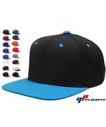 20 Lot Classic Snapback Snap Back Baseball Blank Plain Hat Caps Yupoong ... - $140.15