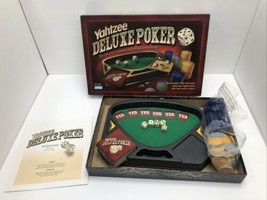 YAHTZEE DELUXE POKER - BY PARKER BROS ADULT GAME 2-6 PLAYERS - $12.86