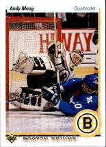 Andy Moog 1990-91 Upper Deck Card #232 - $0.99