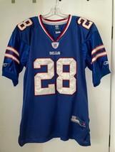 Cj Spiller 28 Buffalo Bills Authentic NFL Jersey Reebok OnField Blue Sz 50 - $24.75