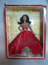 2014 Mattel Holiday Barbie BDH14 New Damaged Box - $15.42