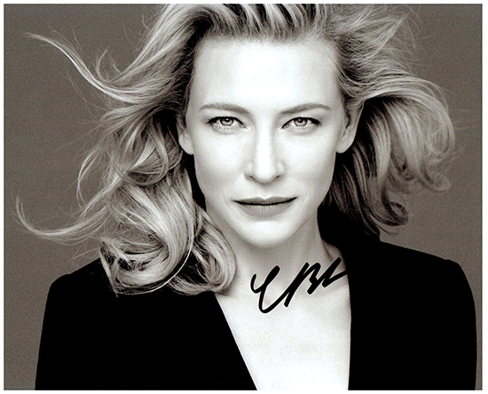 CATE BLANCHETT  Authentic Original  SIGNED AUTOGRAPHED PHOTO W/COA 1868