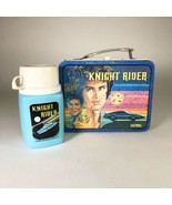 Knight Rider 1982 Tin Lunchbox and Thermos  - $64.35