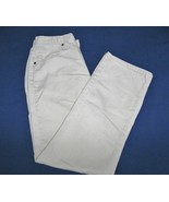 Riders Pants/Jeans Light Beige-Size 6M-30in Inseam-100% Cotton-Straight ... - $10.99