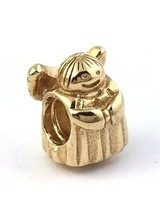 Authentic Pandora Angel Of Hope 14K Gold Bead Charm, 750419, New - $366.69