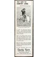 1977 Danby Miniature Donkey Farm Omaha Nebraska Print Ad - $7.15