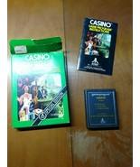 Casino Atari 2600 Complete in box - $9.89