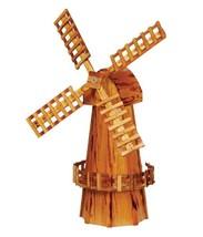 "41"" GARDEN WINDMILL - Wooden Dutch Spinning Wind Mill Amish Handmade in USA - $275.59 CAD"