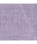FABRIC CUT 32ct lilac linen 9x12 for Tiny Bunny Biscornu chart Just Nan   - $8.00
