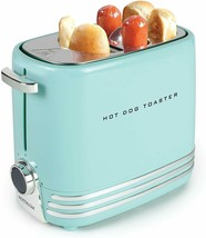 Hot Dog Toaster, Pop-Up 2 Hot Dogs and Buns -Great tasting hot dogs-Aqua... - £28.41 GBP