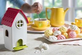 Tea Bag Dispenser Original House Design SOHO Lifestyle Gift Home Bar Kit... - $23.00