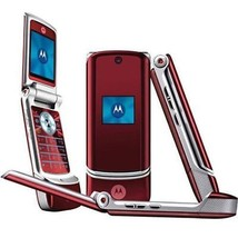 ORIGINAL Motorola K1 Fire Red 100% UNLOCKED Cellular Phone 2G WARRANTY R... - $54.30