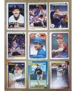 Baseball Cards Lot of 9 Slaught Mahler Wilson Dawson Fetters Etc - $11.35