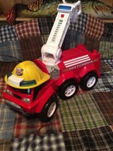Matchbox  Hero Hauler Steer-N-Store Fire Truck Large Push Walk Behind Toy - $173.24
