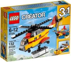 LEGO Creator Cargo Heliplane 31029 [NEW] Building Toy Helicopter - $29.99