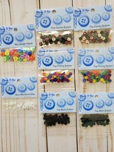 Craft BUNDLE 3:  Mini Buttons.  Dress It Up
