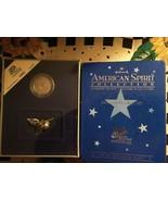 Hallmark American Spirit Collection Georgia 1999 Coin & Figurine Set New... - $9.69