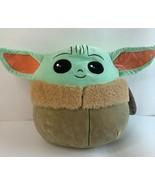 "Squishmallow 10"" Star Wars The Child Grogu Baby Yoda Mandalorian Soft Pl... - $18.66"