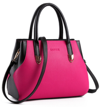 Mixed Color Women Handbags Leather Shoulder Bags Large Purse H215-1 - $39.99