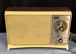 VINTAGE Arvin model 16R28 AM Transistor Radio Walnut Wood Grain Finish - $19.99