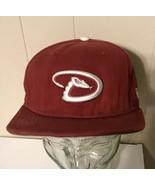 New Era Arizona Diamondbacks Hat Cap Strapback Red Baseball MLB - $15.83