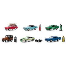 The Hobby Shop Series 5, Set of 6 Cars 1/64 Diecast Models by Greenlight... - $54.68