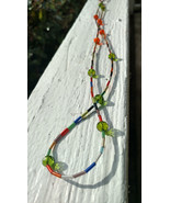 Colorful tube necklace - $30.00