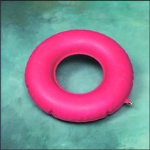 """Red Rubber Inflatable Ring 16"""" - $12.93"""