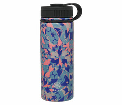 NEW Gaiam 18 Oz. Stainless Steel Water Bottle for Hot or Cold Drinks NWT image 2