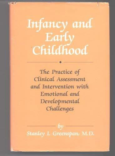 Primary image for Infancy and Early Childhood: The Practice of Clinical Assessment and Interventio
