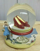 """Wizard Of Oz Red Ruby Slippers Snow Globe Over The Rainbow Dorothy 5.5"""" ... - $24.74"""