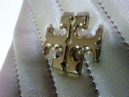 NWT Tory Burch Classic Taupe Kira Chevron Tote $598 image 10