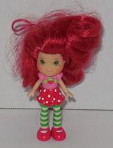 "2008 Hasbro Strawberry Shortcake 3"" Mini Doll TCFC Rare HTF - $9.50"