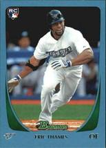 2011 Bowman Blue #87 Eric Thames RC Rookie Card > SN 022/499 > Blue Jays ⚾ - $4.99