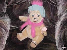 "14"" Disney TEDDIE BARRA Plush Bear Original Disneyland - $49.49"