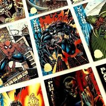 Marvel Cards Power Ratings 1994 Fleer Full Set Of 9 #127-135 Mint Group - $17.09