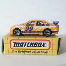 Matchbox MBX 1998 MB64 Holden Commodore Yellow Orange China - $6.72