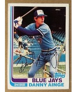 Danny Ainge Toronto Blue Jays 1982 Topps #125 - Fast Shipping - $1.73