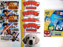 Disney Pixar Color And Play Coloring Book with Tear & Share Pages  LOT - $17.79
