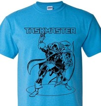 The Taskmaster T-shirt retro supervillian comic vintage style heather blue tee image 1