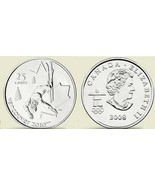 UNC CANADA OLYMPIC 2008 FREESTYLE SKIING QUARTER~F/S - $3.00