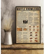 Waffle Knowledge Vertical Art Poster For Indoor Home Decoration, Christm... - $25.59+