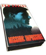 MISSION IMPOSSIBLE VHS Movie Tom Cruise Jon Voight Paramount Pictures 1996 - $6.99